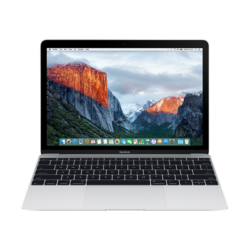 APPLE NB MacBook 12-inch Retina, Intel Dual Core M5 1,2 GHz, 8GB, 512GB SSD, Intel HD Graphics 515, silver HUN KB