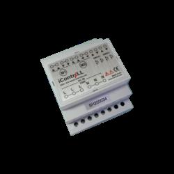ICONTRALL 2 csatornás árnyékoló vezérlő, DIN sínre szerelhető