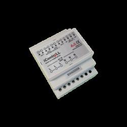 ICONTRALL 4 áramkörös hálózati teljesítménykapcsoló, DIN sínre szerelhető