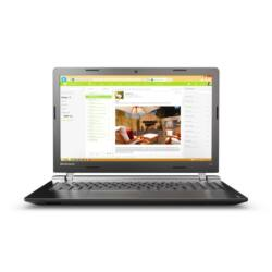 "LENOVO IdeaPad 100-15IBY, 15.6"" HD, Intel Celeron DualCore N2840 (2.16GHz), 4GB, 500GB HDD, ODD, Win10, Black"