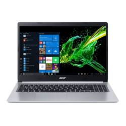 "ACER Aspire A515-54G-55GU, 15.6"" FHD, Intel Core i5-10210U, 8GB, 512GB SSD, NO ODD, nVidia GeForce MX250, Elinux, ezüst"