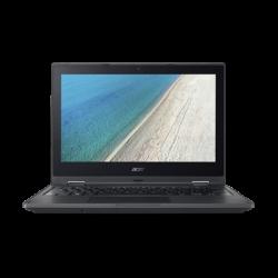 "ACER TravelMate TMB118-R-P676 11.6"" Touch HD, Intel Pentium Quad Core N4200, 4GB, 256GB SSD, Win10Home, fekete"