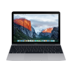 "APPLE MacBook 12"" Retina/DC M3 1.2GHz/8GB/256GB/Intel HD Graphics 615/Space Grey - HUN KB (2017)"