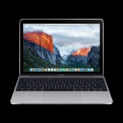 "APPLE MacBook 12"" Retina/DC M3 1.2GHz/8GB/256GB/Intel HD Graphics 615/Space Grey - HUN KB (2017)"