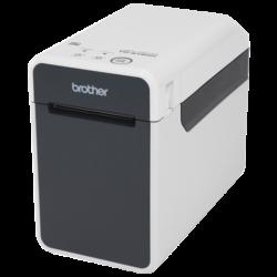 BROTHER Címke-és blokknyomtató TD2130NXX1, thermál, 152,4mm/mp, 300dpi, USB, Soros, LAN