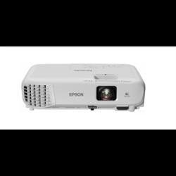EPSON Projektor EB-S05, SVGA 800x600  3200 ANSI Lm, 15 000:1, USB/HDMI/VGA/LAN/Wifi(opcionális)