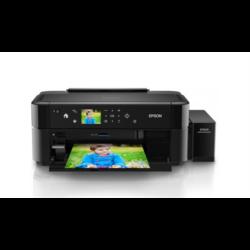 EPSON Tintasugaras nyomtató - L810 (A4, színes, 5760x1440 DPI, 37 oldal/perc, USB, CD/DVD, ult. tintakap.)