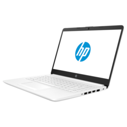 """HP 14-dk1004nh, 14"""" FHD AG IPS, AMD Ryzen3 3250U, 8GB, 512GB SSD, fehér"""