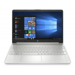 "HP 15s-eq1002nh, 15.6"" FHD AG SVA, Ryzen 3 3250U, 4GB, 256GB SSD, Win 10, ezüst"