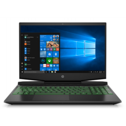 "HP Pavilion Gaming 15-dk0006nh, 15.6"" FHD AG IPS, Core i7-9750H, 8GB, 256GB SSD, 1TB, GTX 1650 4GB, Win 10, Shadow Black"