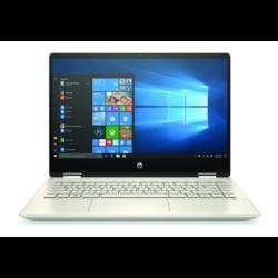 """HP Pavilion x360 14-dh1001nh, 14"""" FHD AG IPS, Core i3-10110U, 8GB, 256GB SSD, Win 10, arany"""