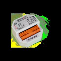 ICONTRALL 1 csatornás árnyékoló vezérlő, kapcsoló alá építhető