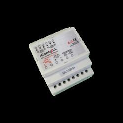 ICONTRALL 1 csatornás zár, kapu és sorompó vezérlő, DIN sínre szerelhető
