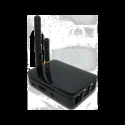 ICONTRALL PowerDrive2 központi egység, beépített árnyékoló vezérlővel sík felületre szerelhető