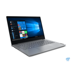 "LENOVO ThinkBook 14-IIL, 14"" FHD, Intel Core i7-1065G7 (4C 3.90GHz), 16GB, 512GB SSD, Win10 Pro, Mineral Grey"