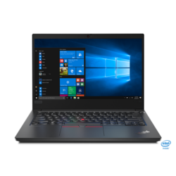 "LENOVO ThinkPad E14, 14.0"" FHD, Intel Core i5-10210U (4C, 4.2GHz), 8GB, 256GB SSD, NoOS, Black."