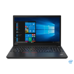 "LENOVO ThinkPad E15, 15.6"" FHD, Intel Core i7-10510U (4C, 4,9GHz), 8GB, 256GB SSD, Win10 Pro, Black."