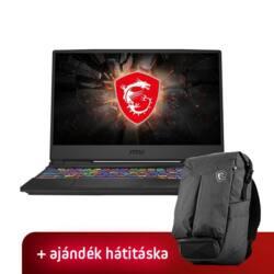 """MSI GL65 9SC, 15,6"""" FHD 120Hz, Intel Core i7-9750H, 8GB, 512GB SSD, GTX 1650-4, DOS, Black"""
