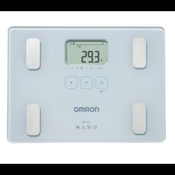 OMRON BF212 Testösszetétel-elemző mérleg, súly/testzsír(%)/testtömegindex mérés, 4 felhasználó